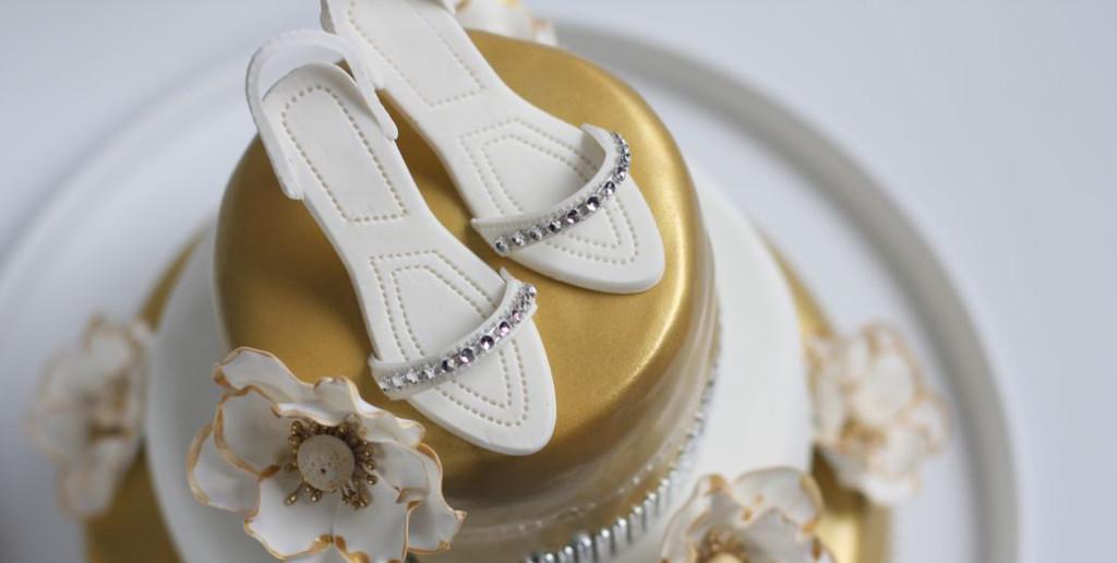 bling bling taart