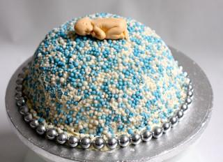 taart zonder marsepein of fondant
