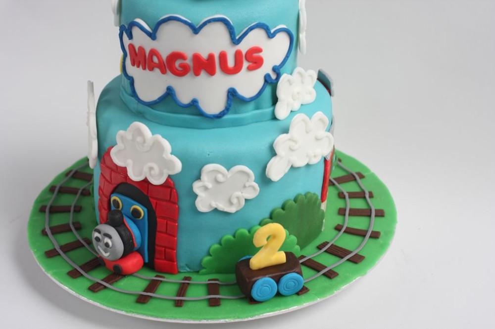 Magnifiek Thomas de Trein taart | www.astriddehaas.nl &ZQ22